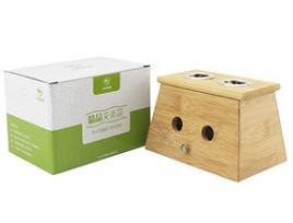 九九艾灸 精品实木双孔艾灸盒